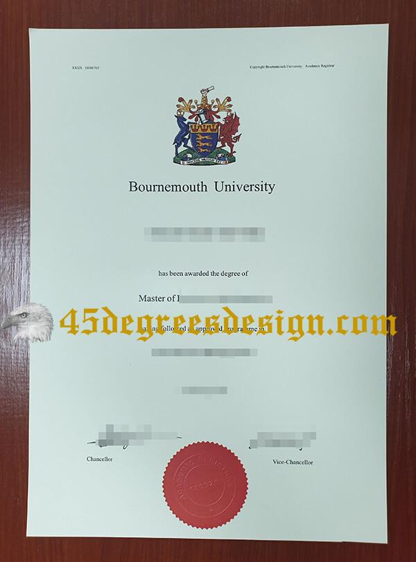 Bournemouth University degree