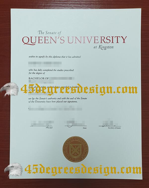 Queen's University at Kingston fake degree