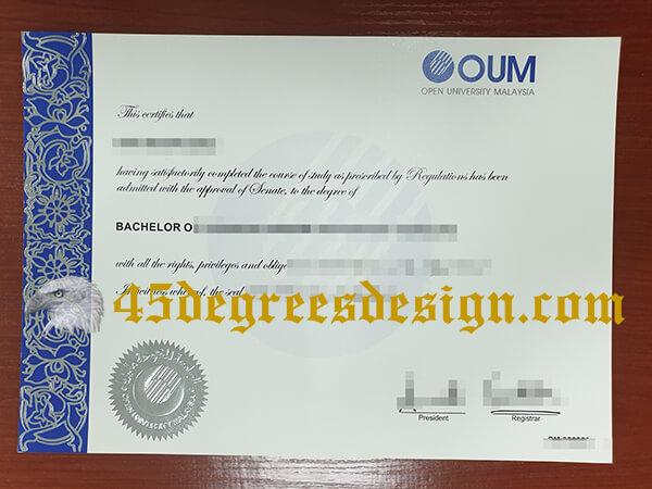 OUM degree
