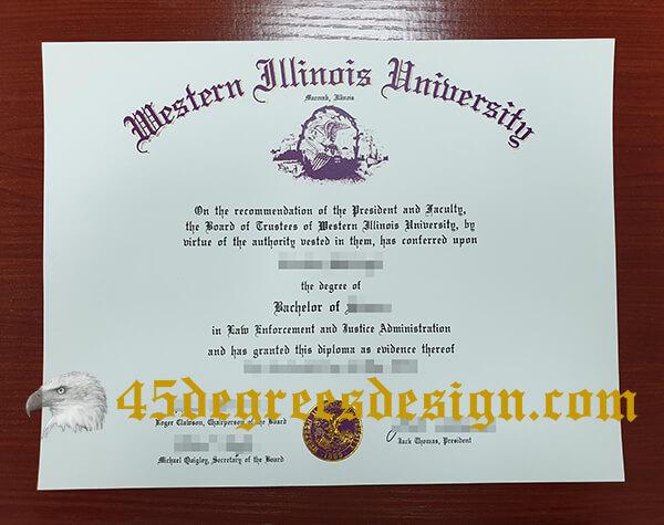 Western Illinois University degree