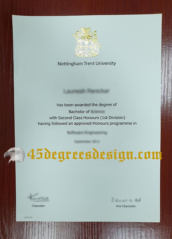 buy NTU diploma
