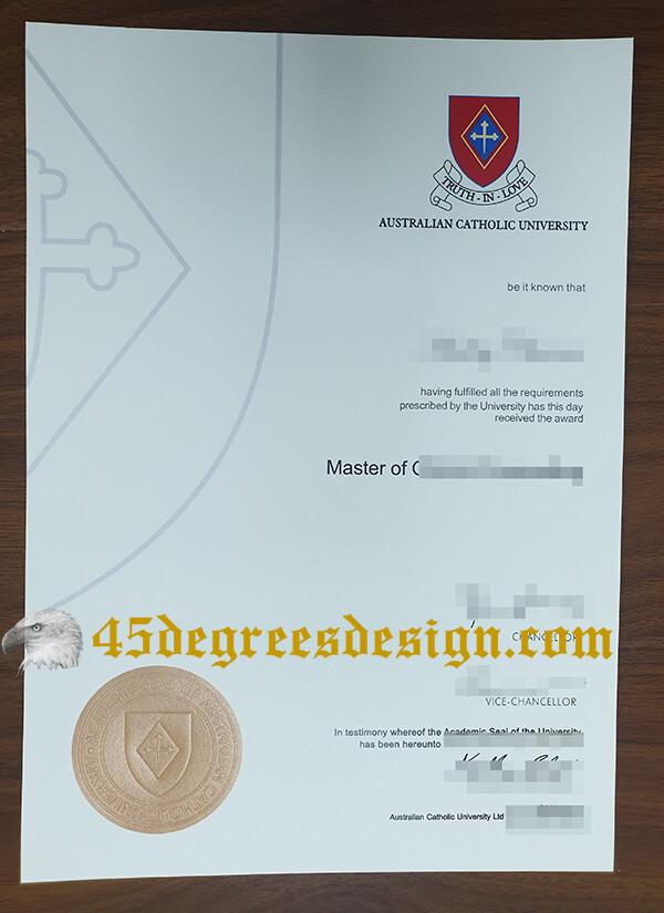 Australian Catholic University (ACU) diploma