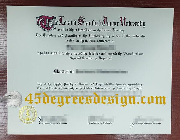 Stanford University master degree
