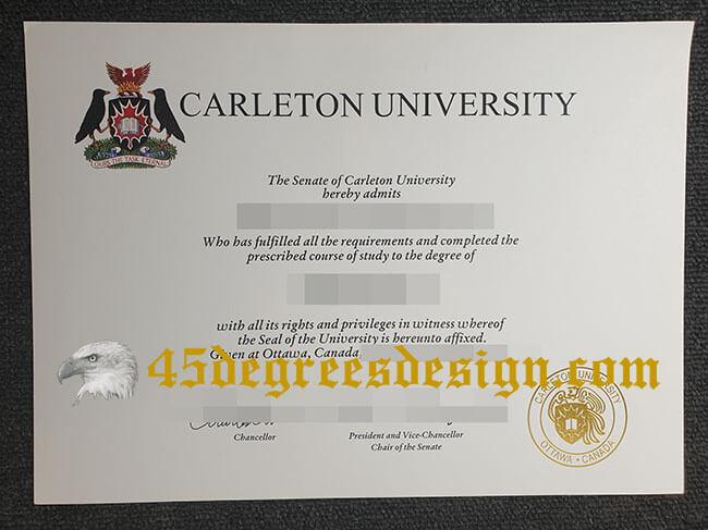 Carleton University fake degree