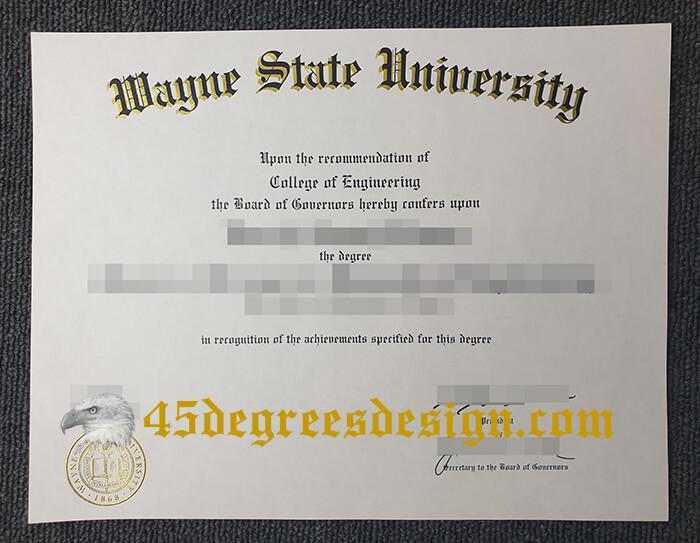 Wayne State University degree