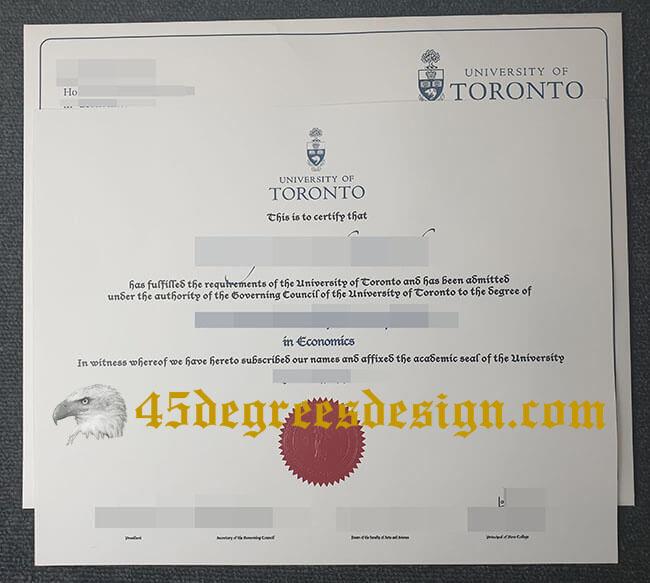 University of Toronto fake degree envelope