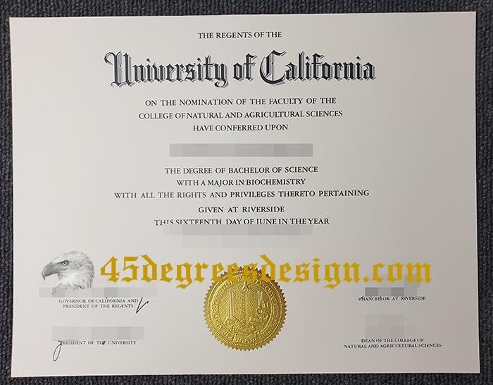 University of California diploma
