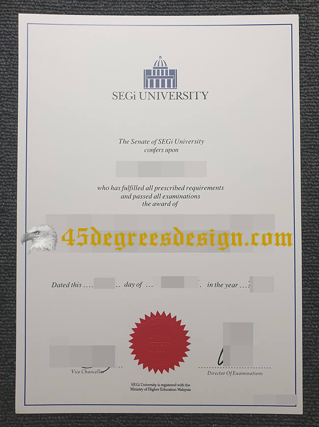 SEGi University diploma, buy Malaysia