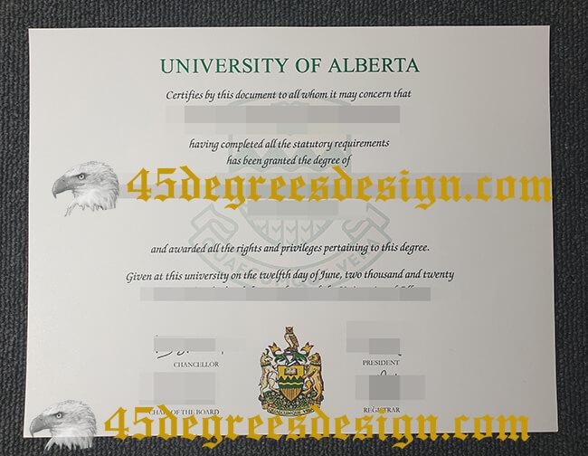University of Alberta diploma