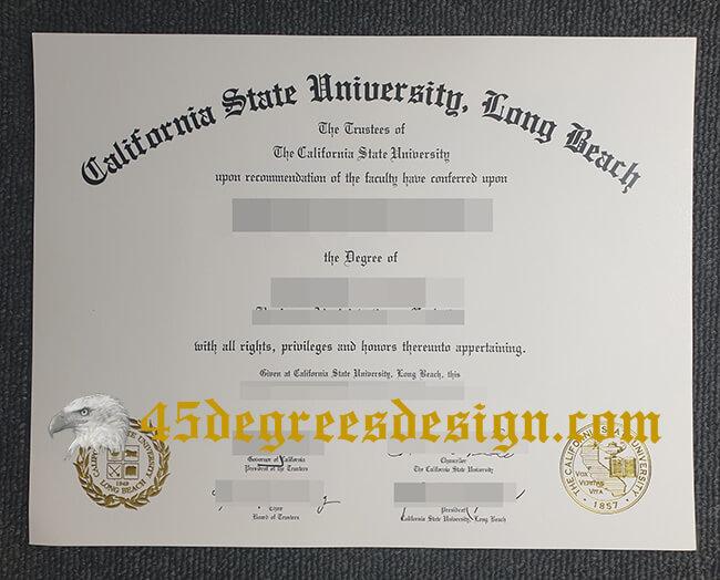 CSULB diploma, buy fake diploma