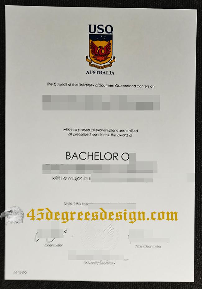 University of Southern Queensland (USQ) degree