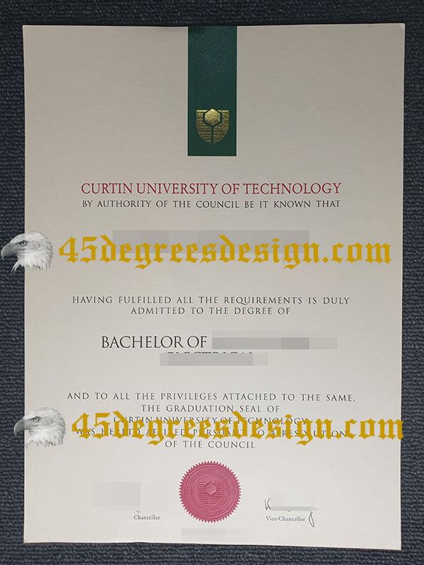 Curtin University of Technology  diploma, buy fake degree