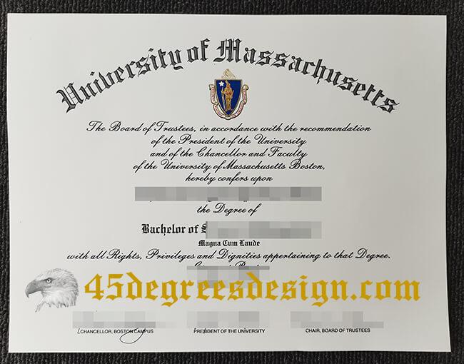 Massachusetts diploma