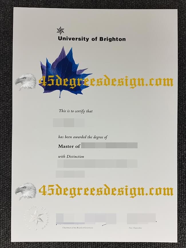 How to buy fake University of Brighton diploma