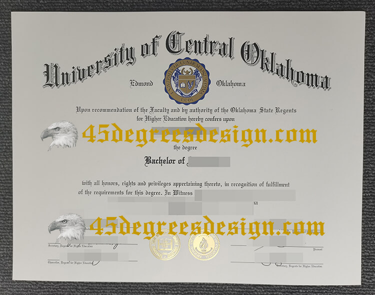 University of Central Oklahoma (UCO) diploma online