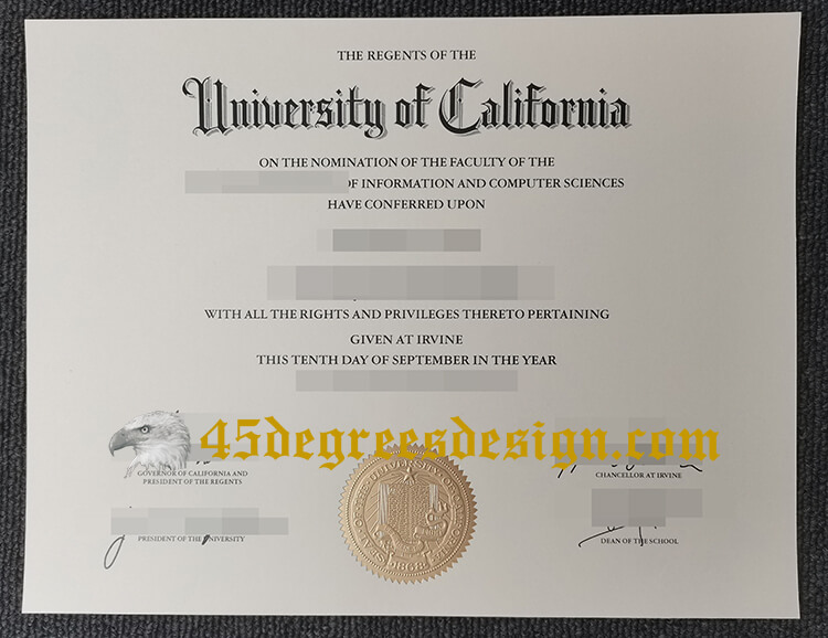 UCI degree
