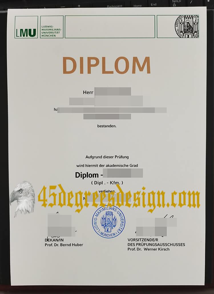 LMU München diploma