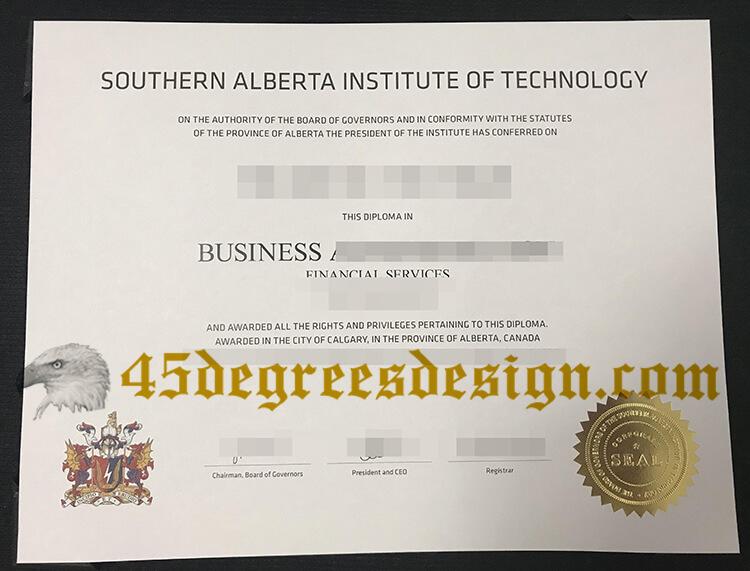 SAIT fake degree