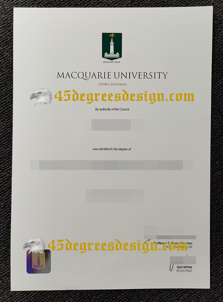 Macquarie University degree Macquarie University degree