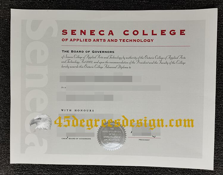 Seneca College diploma