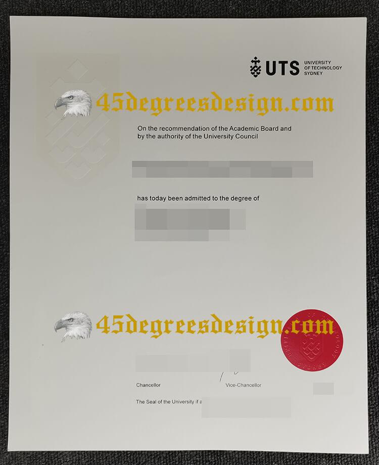 University of Technology Sydney (UTS) degree