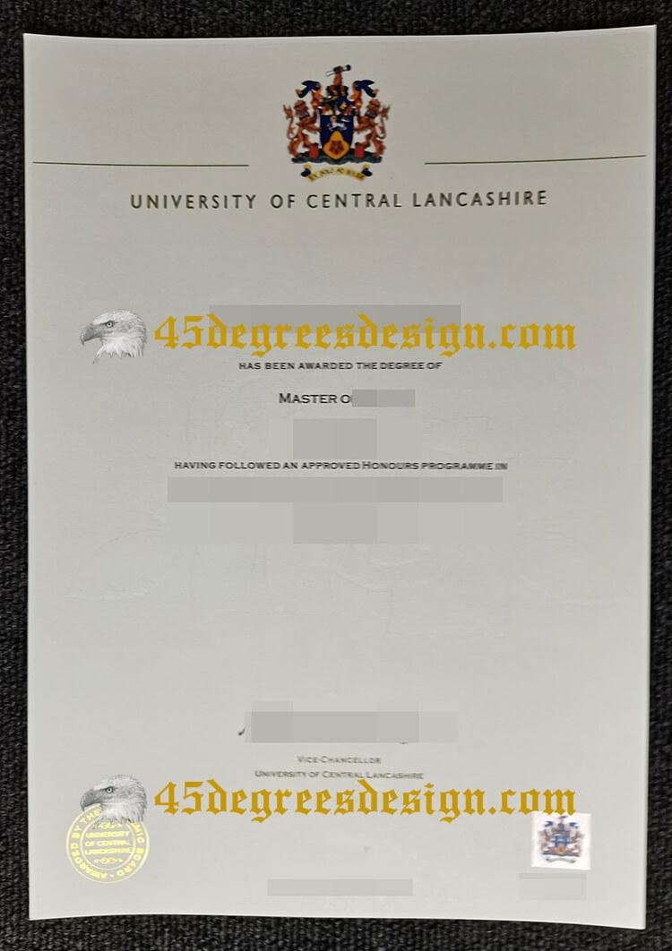 UCLan degree