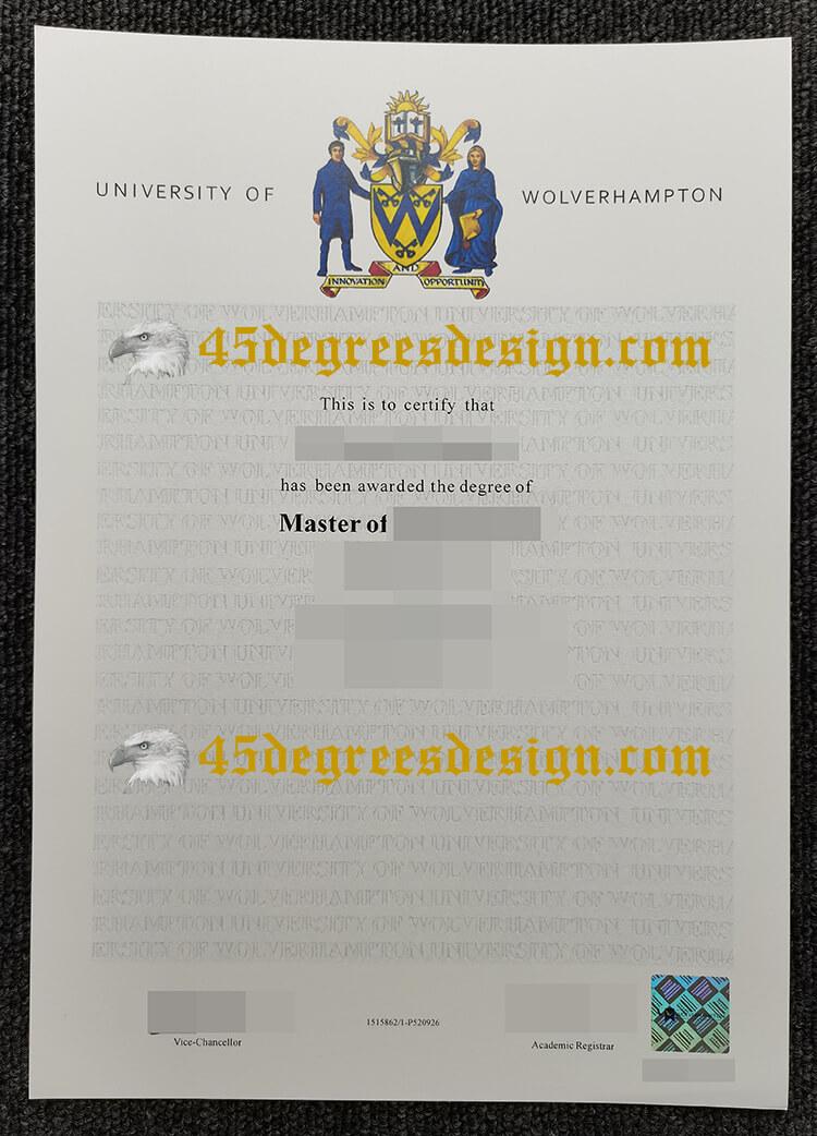 University of Wolverhampton degree