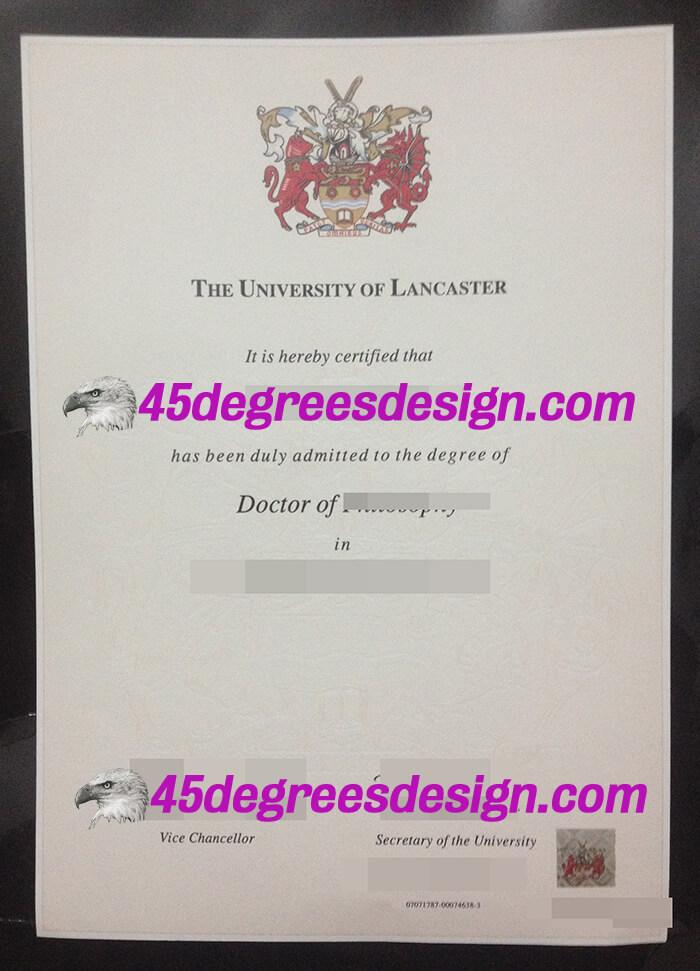 Lancaster University degree