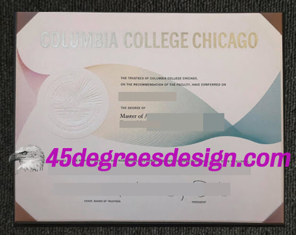 Columbia College Chicago degree