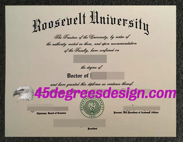 Roosevelt University degree