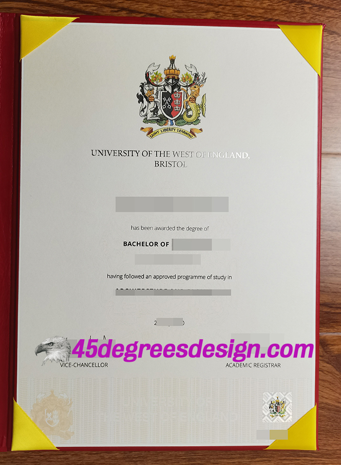 University of The West of England Degree