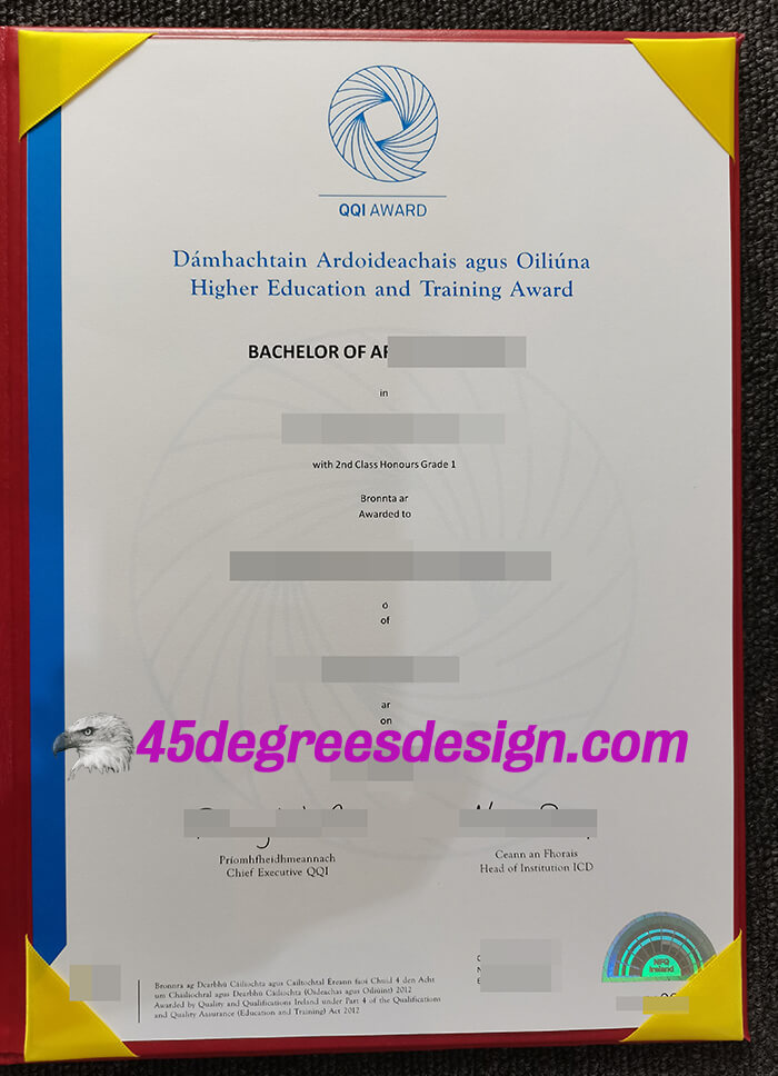 Quality and Qualifications Ireland diploma