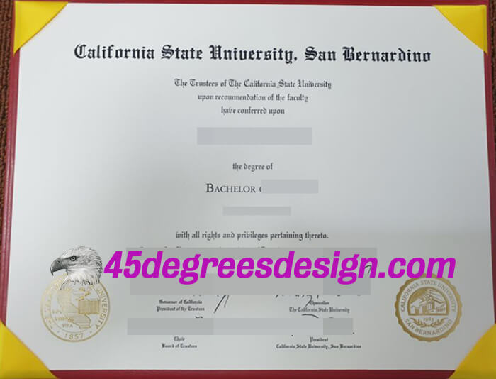 CSUSB degree