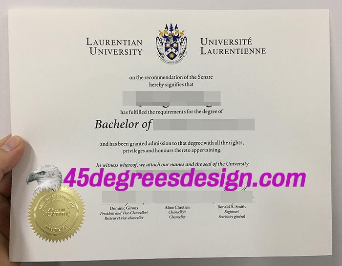 Laurentian University degree