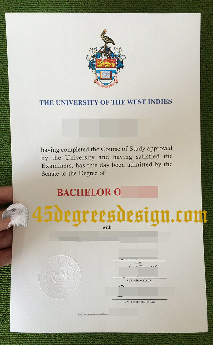 University of the West Indies fake diploma