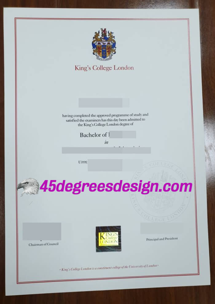 King's College London degree