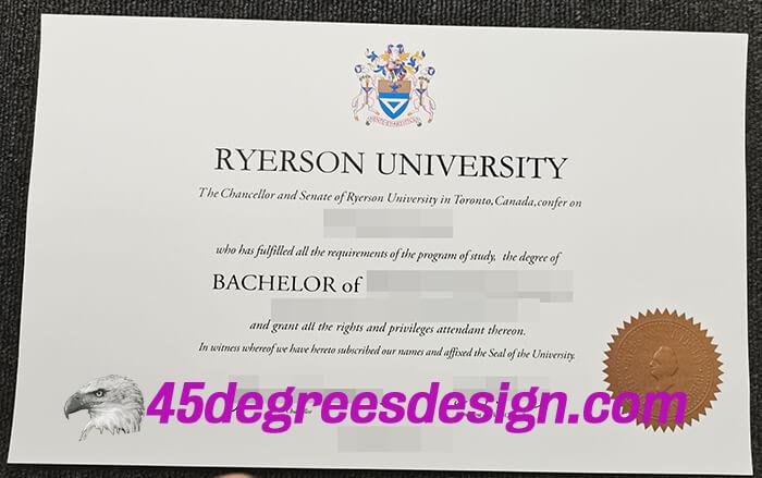 Ryerson University Diploma