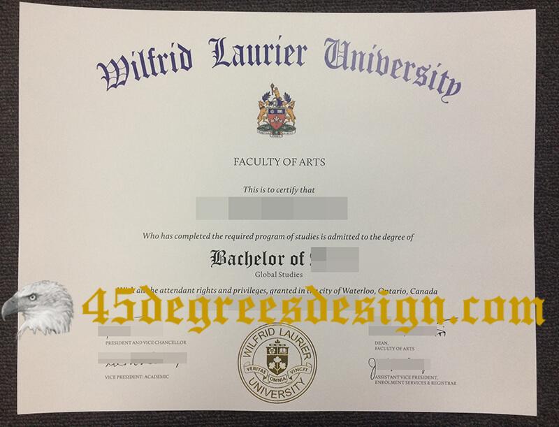 Wilfrid Laurier University diploma