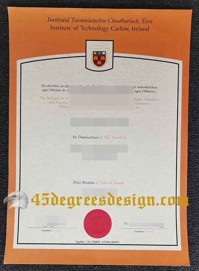Institute of Technology Carlow diploma