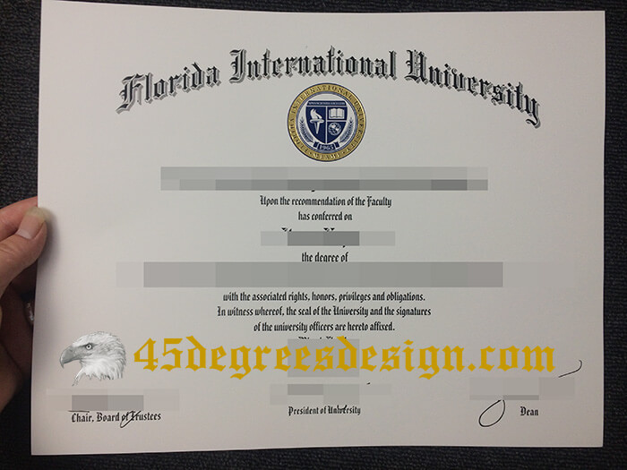 Florida International University Diploma
