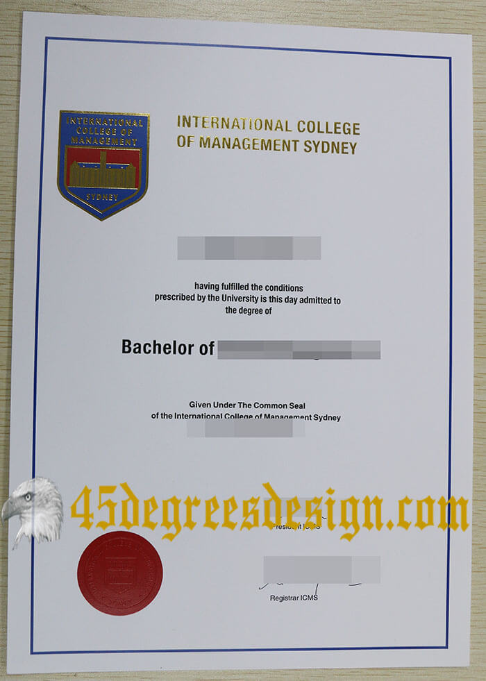 ICMS diploma