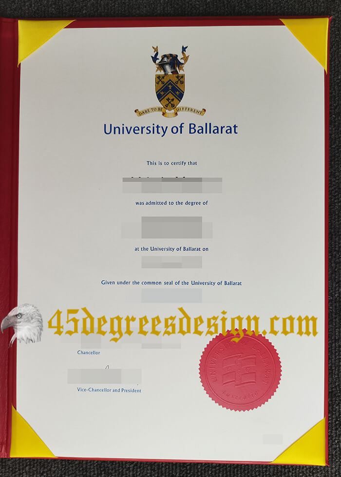 University of Ballarat degree