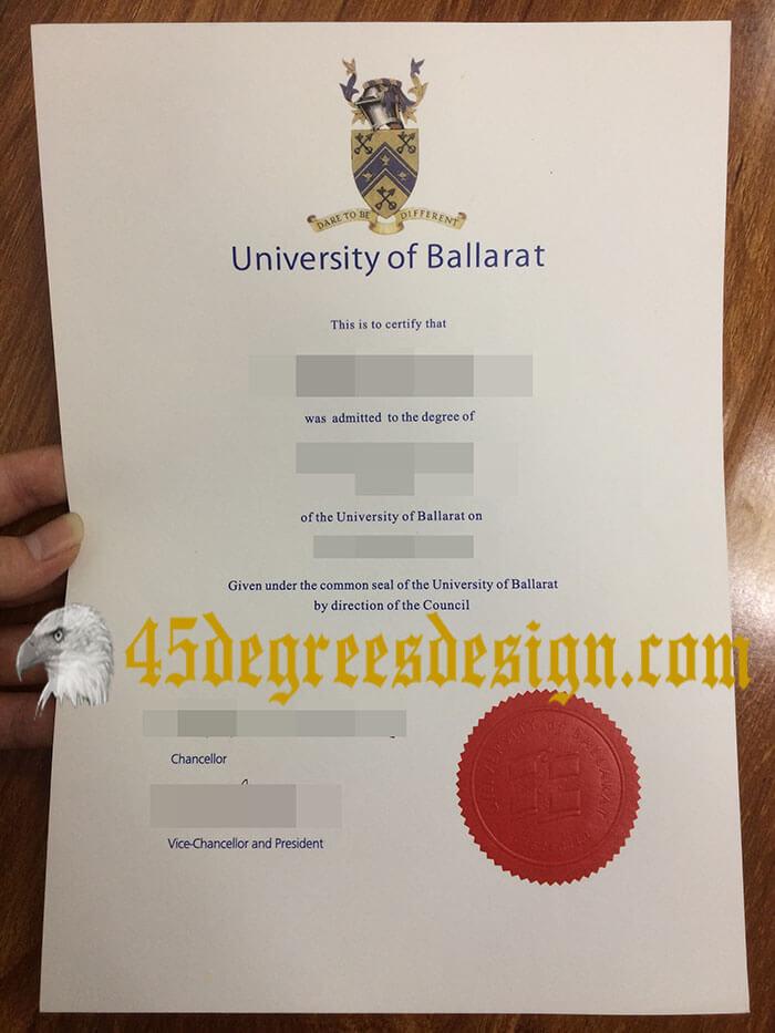 Federation University Australia diploma