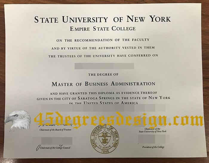 SUNY Empire diploma