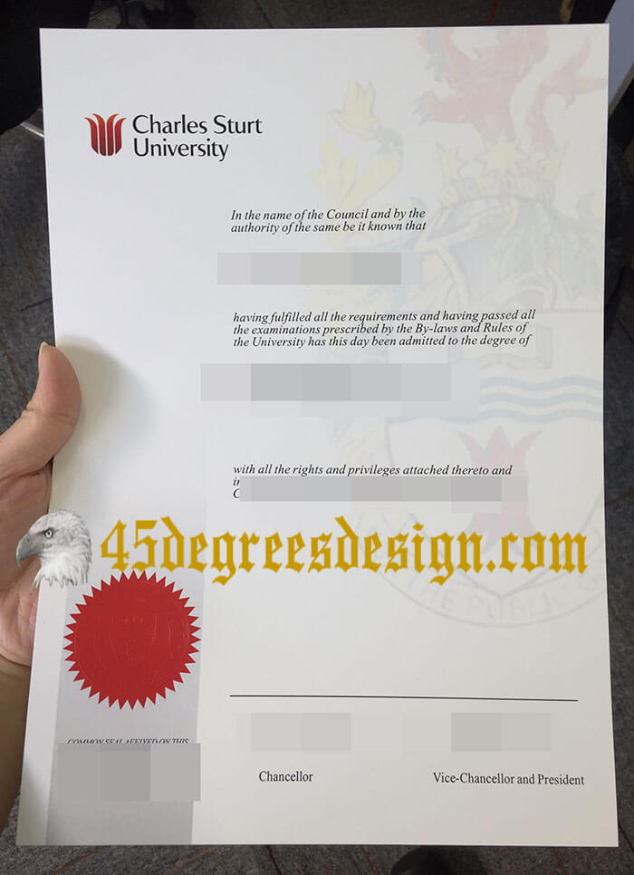 Charles Sturt University diploma
