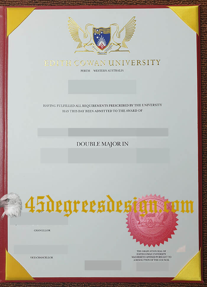 Edith Cowan University diploma