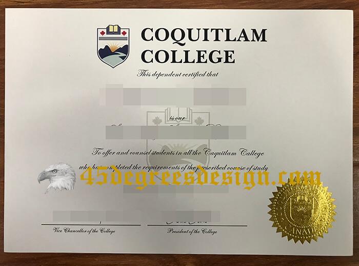 Coquitlam College diploma