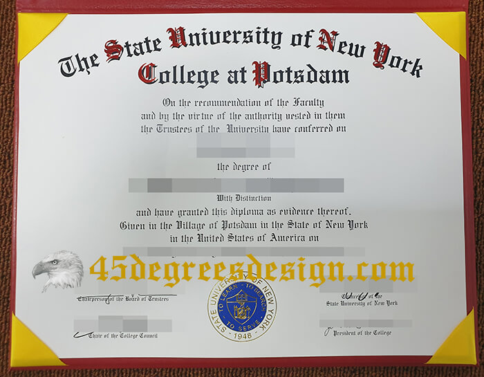 SUNY Potsdam degree