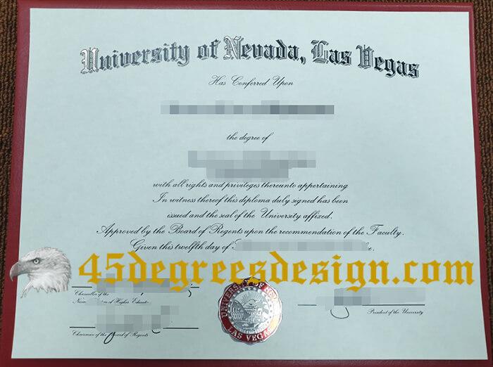 UNLV diploma