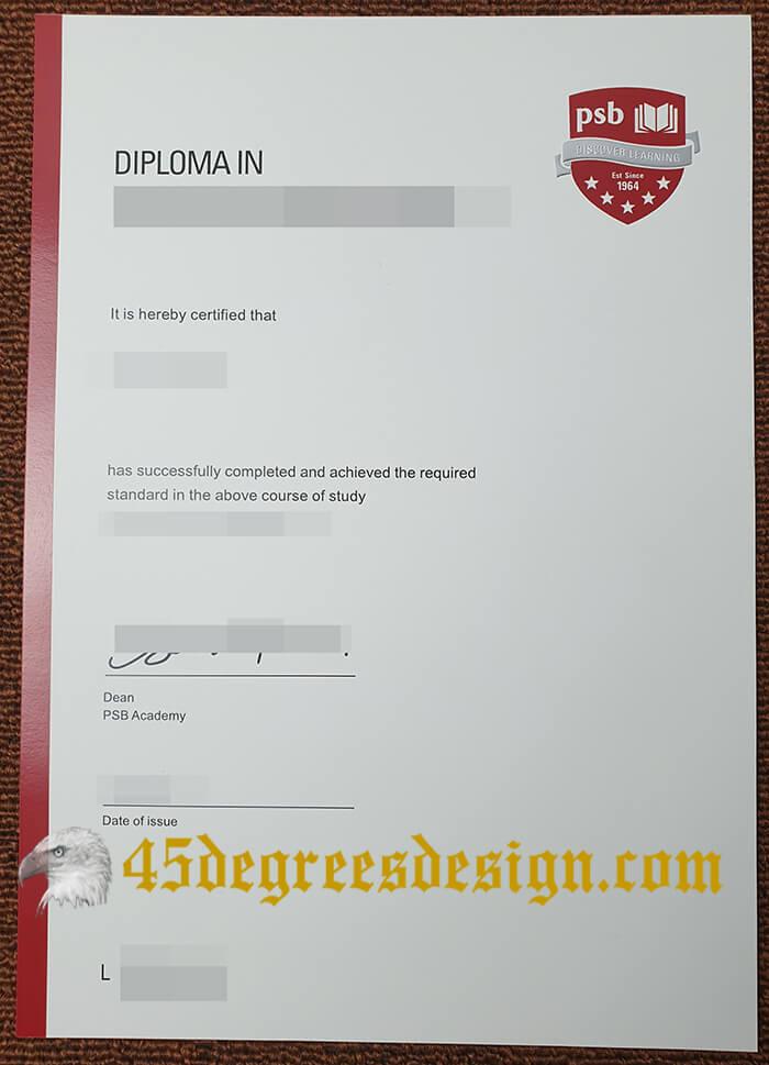PSB Academy diploma